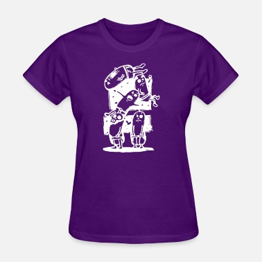 Togetherness Jokes Dance Together - Women's T-Shirt