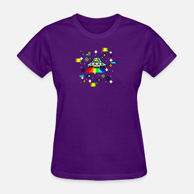 Cat Cosmos Cats invaders - Women's T-Shirt