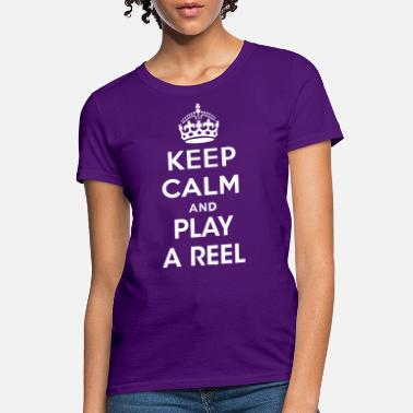 Irish Folk Music play_reel - Women's T-Shirt