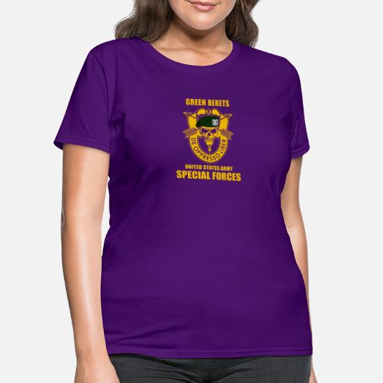 6ece811a8 SPECIAL FORCES GROUP AIRBORNE MILITARY - Women's T-Shirt. Front. Front