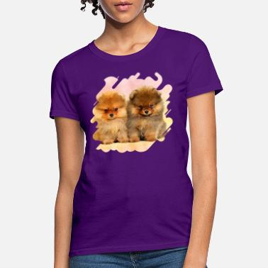 Pomeranian Gifts Unisex and Women/'s Cut Breathable Soft Comfortable Polyester Moisture-Wicking I Love My Pomeranian T-Shirt