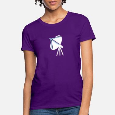 Satellite computer connectivity satellite dish cell phones - Women's T-Shirt