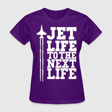 JET LIFE TO NEXT LIFE  eps - Women's T-Shirt