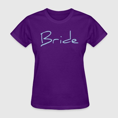 Bride Text Word Graphic Design Picture Vector - Women's T-Shirt