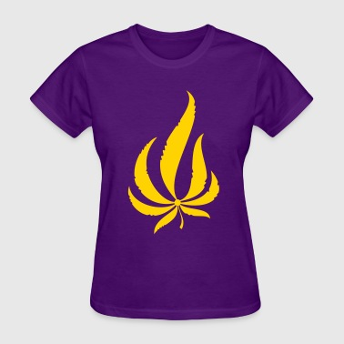 Pot Leaf - Women's T-Shirt