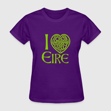 I love Ireland / Eire - Women's T-Shirt