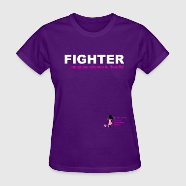 Domestic Violence Fighter Tee - Women's T-Shirt