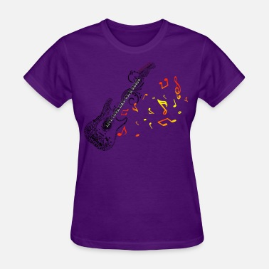 Mosaic Art guitar mosaic - Women's T-Shirt