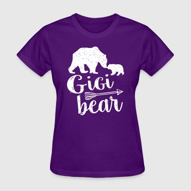 Gigi Bear Cute Great Grandma Gift - Women's T-Shirt