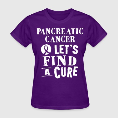 Pancreatic Cancer Awareness Cure - Women's T-Shirt