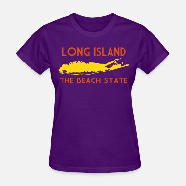 Long Island Long Island The Beach State - Women's T-Shirt