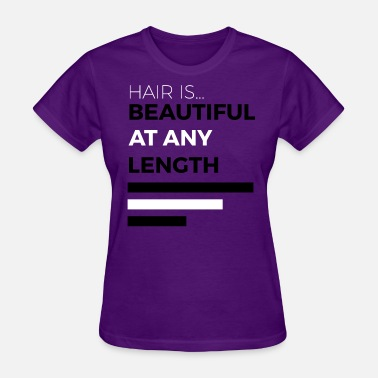 Hair Length Check Any Length - Women's T-Shirt