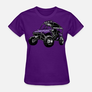 Atv Side By Side UTV side-x-side rhino, purple - Women's T-Shirt