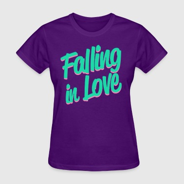 Falling in Love - Women's T-Shirt