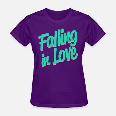 Falling Love Falling in Love - Women's T-Shirt