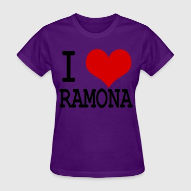 I HEART RAMONA - Women's T-Shirt