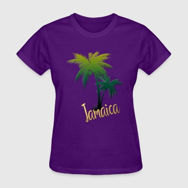 Palm Tree Jamaica - Women's T-Shirt