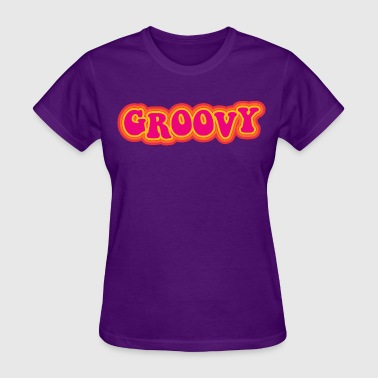 Retro Groovy - Women's T-Shirt