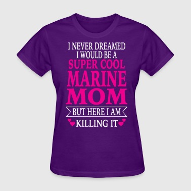 Marine Mom - Women's T-Shirt