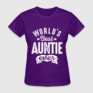 Worlds Best Auntie - Women's T-Shirt
