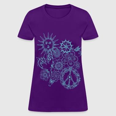 Shop hippie women online spreadshirt for Hippie t shirts australia
