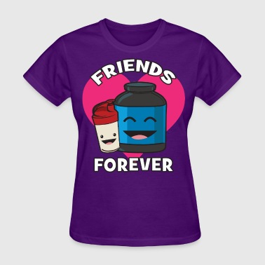 Friends Forever (Kawii Workout) - Women's T-Shirt