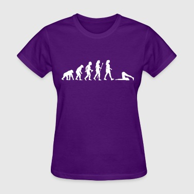 Women's Yoga Evolution - Women's T-Shirt
