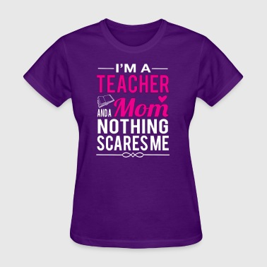 Teacher Mom - Women's T-Shirt