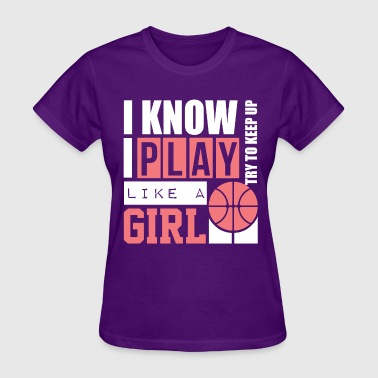 Basketball Girl - Women's T-Shirt