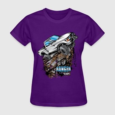 White Ford Ranger T-Shirt - Women's T-Shirt