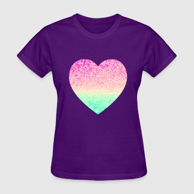 heart shape love - Women's T-Shirt
