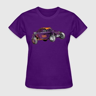 Purple Race Buggy - Women's T-Shirt