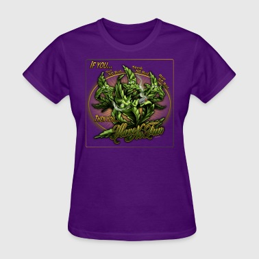 See No Bud by RollinLow - Women's T-Shirt