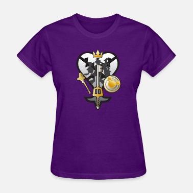 (Kingdom Hearts) All for One and One for All Silve - Women's T-Shirt