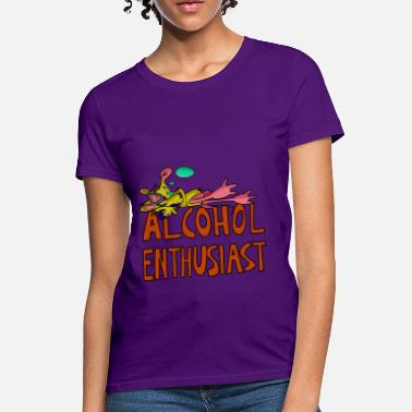 Hic Alcohol Enthusiast - Women's T-Shirt