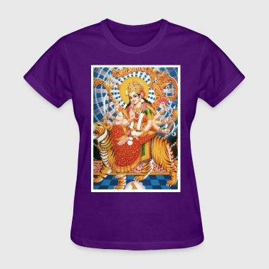 Cotton Candy Durga T-Shirt - Women's T-Shirt