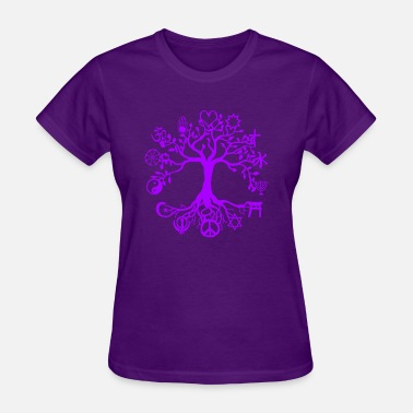 World Unity Unity and Peace - Women's T-Shirt