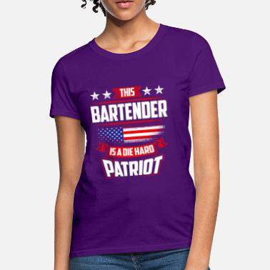 4th Of July 4th Of July Bartender Shirt Gift - Women's T-Shirt