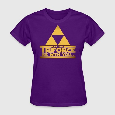 May the Triforce be with You - Women's T-Shirt