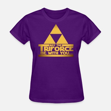 Triforce May the Triforce be with You - Women's T-Shirt