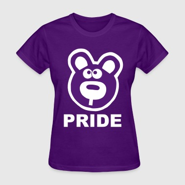 Gay Pride Hetero Pride Bears Bear Statement Gay Lesbian Proud  - Women's T-Shirt