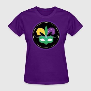 Mardi Gras Mask Mardi Gras Mask Celebration Party Parade - Women's T-Shirt