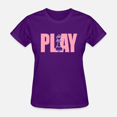 Checkmate Play Chess - Women's T-Shirt