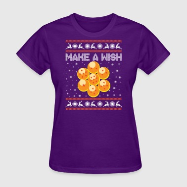 Shenlong 7 dragonballs collected, now let's make a wish! - Women's T-Shirt