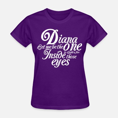 Princess Diana LIGHT A FIRE - Women's T-Shirt
