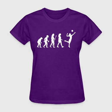 Women's Volleyball Evolution - Women's T-Shirt