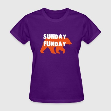 Chicago Beers SUNDAY FUNDAY FOOTBALL CHICAGO BEERS - Women's T-Shirt