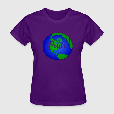 Planet Earth Save the Planet Peace On Earth - Women's T-Shirt