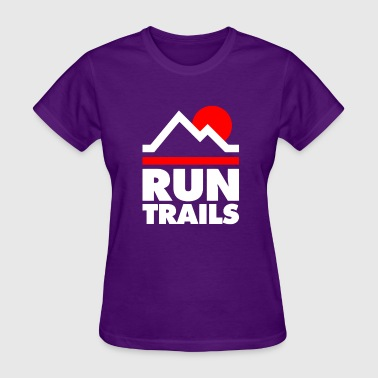 Nature Trail Run Trails - Women's T-Shirt
