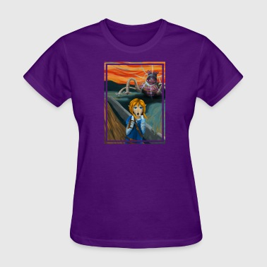 The Guardian Scream Rectangle - Women's T-Shirt